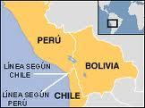 Différent frontalier Maritime Pérou Chili devant Tribunal International Haye