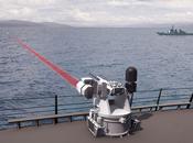 réalité rejoint science-fiction canon laser, arme développée l'US NAVY