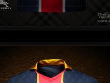 nouveaux maillots avec l'arrivée Beckham