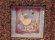encadrements aquarelles d'Annie Lesage