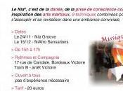 Stage danse 15/12/2012 Bordeaux