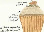 cupcakes d'automne chataigne.
