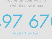 Appli MailBox iPhone, liste d'attente assez drôle