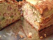 Recette n°50: Cake jambon rapé fumé, olives vertes gruyère rapé.