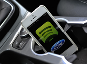 Ford signe partenariat avec Spotify