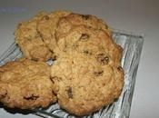biscuits flocons d'avoine raisins secs