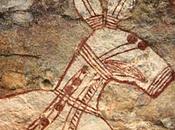 peintures pariétales aborigènes menacées découverte d'une mine d'uranium Wellington Range, Terre d'Arnhem, Australie