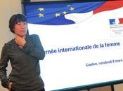 Journée internationale femme Canton rencontre avec Fadela Amara