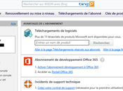 [MSDN] Activer avantages Office