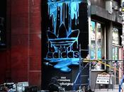 FILM graff adidas originals dans rues NYC...
