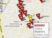 Parcours Gourmand bruxellois Yelp