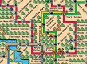 métro Washington sous forme carte Super Mario Bros