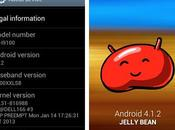 Galaxy GT-i9100P, passe Android 4.1.2