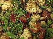Salade Chou-Fleur Roti Zaatar