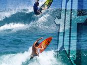 Même manoeuvre, même modèle, rider, marque surf. Xavier Leroy team rider SURFBOARDS