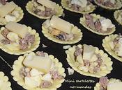 mini tartelettes normandes (salées)
