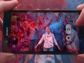 Sony avant caméra Xperia