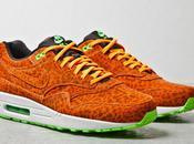 Nike Orange Leopard