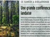 """Conférence-Débat """"Forêt Landaise"""" samedi 2013 à"""