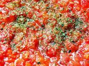 Ceviche Poivron Tomate