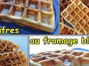 Gaufres fromage blanc