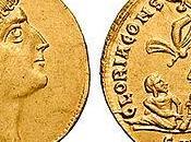 Découverte pièces d'or romaines vieilles près 1700