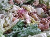 Salade ceasar revisitée (oeuf/tomate)