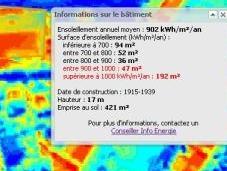 Paris cadastre solaire pour vous indiquer quantité soleil votre toiture
