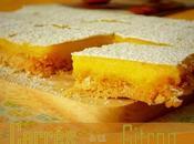 recette Carrés citron facile