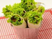 Wraps pour pique nique gourmand