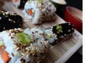 Makis sushis california rolls saumon