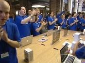 Ouverture d'un Apple Store français Rosny 2...
