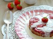 Visitandines renversées fraises crème anglaise...IG