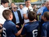Cristiano Géorgie pour académie Foot
