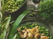 Ragoût fèvettes sarriette, cuisses grenouille sautées