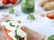 Sandwich pain persil, caprice jambon
