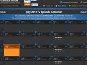 Suivre séries votre calendrier Google Cliffhanger