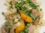 Filet mignon porc boulettes façon couscous