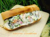 Lobster roll (hot-dog homard)