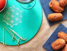 Tapas croquettes poulet jambon Serrano