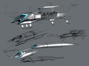 Hyperloop moyen transport subsonique d'Elon Musk