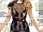 Blake Lively, irradiante beauté robe Gucci couv' September issue Elle China...