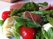 Salade d'asperges vertes l'italienne