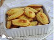 Madeleines pamplemousse