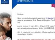 Exemples phishing faux emails usurpant administrations annonceurs