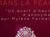 """""""Mylène Farmer dans peau quart d'heure d'anonymat)"""" roman fans Mylène"""