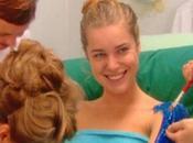 "Rebecca Romijn, maquillage ""Mystique"""