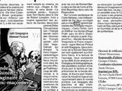 Revue presse #BD, imaginaire franc-maçonnerie Echos Centre