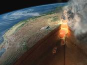 Instabilité interne Terre: volcans