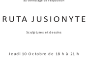 Galerie Claudine LEGRAND Exposition Ruta JUSIONYTE